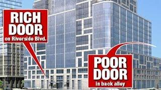 Poor Door Buildings - A new era in segregation?