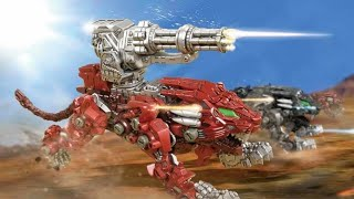 Possibly A New Zoids Wild Zero And Burning Liger?