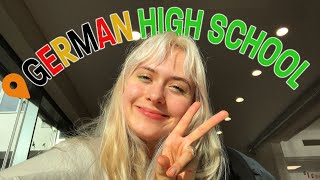 AMERICAN EXCHANGE STUDENT GOES TO GERMAN HIGH SCHOOL yay