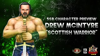 Character Preview Drew McIntyre The Scottish Warrior Gameplay WWE Champions