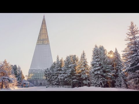 В заброшенной стеле Ханты-Мансийска откроют интерактивный музей и Oil-парк