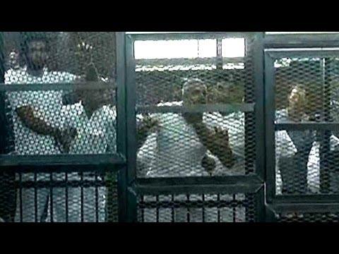 Three Al-Jazeera English journalists sentenced to prison in Egypt