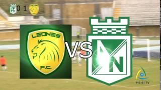 Leones FC vs Atlético Nacional