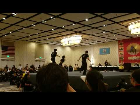 Baltimore 2017 East West Kung Fu Closing Ceremony Competition Team Demo