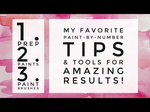 My FAVORITE TIPS, TRICKS, TECHNIQUES & TOOLS for Paint by Number AMAZING RESULTS! from YouTube · Duration:  33 minutes 35 seconds