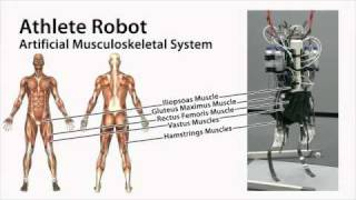 Athlete Robot: Sprint Running