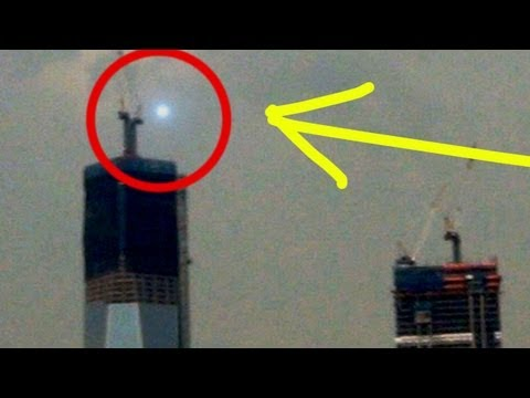 UFO SIGHTING AT ONE WORLD TRADE CENTER Building