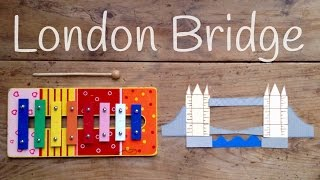 Cómo TOCAR London bridge is falling down | Aprende canciones con XILOFONO