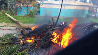 10 Americans caught in a Dominican Republic Riot Receive a Police Escort - Actual Footage