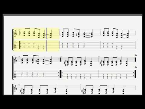 Nirvana -  Breed Guitar Tab [Cover]