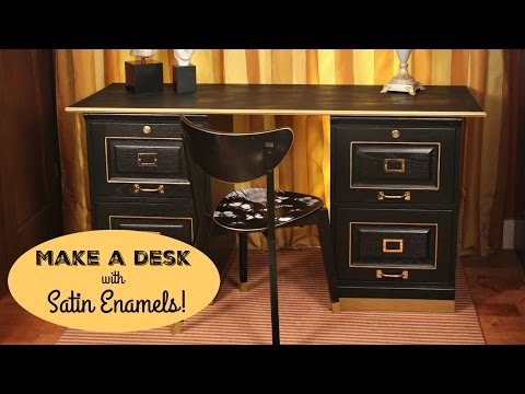HOW TO: Office Desk Makeover