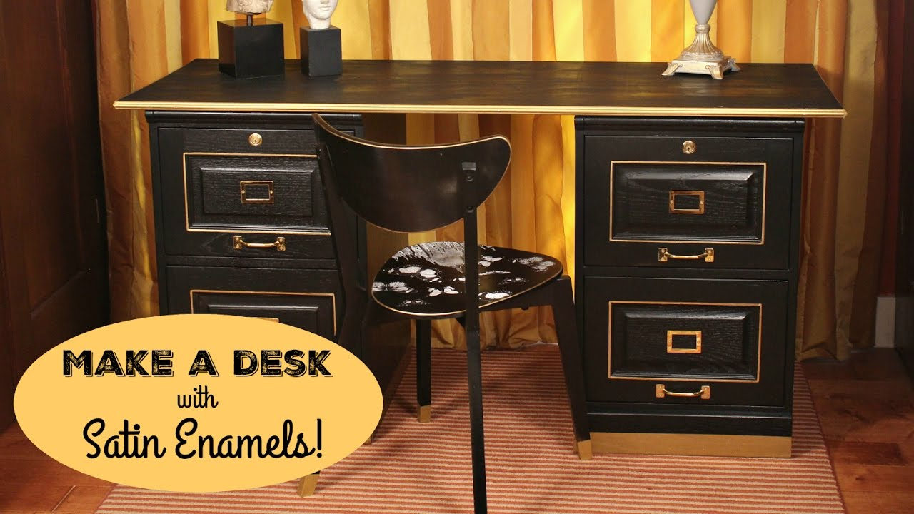 How To Office Desk Makeover