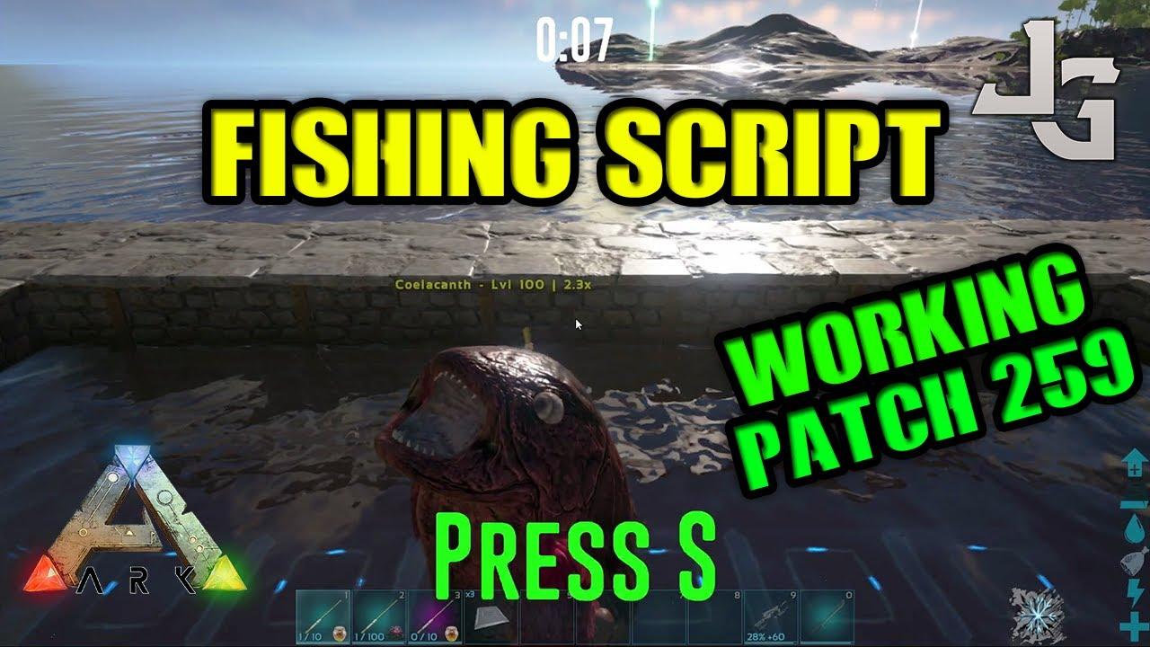 ark fishing script