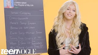 Loren Gray Creates the Playlist to Her Life | Teen Vogue Video