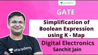 Simplification of Boolean Expression using K - Map   CS \u0026 IT   Sanchit Jain