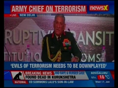 Raisina 2018: Threat of nuclear weapons falling in hands of terrorists can be disaster: Army Chief
