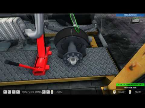 Truck Mechanic Simulator 2015 - order 12  