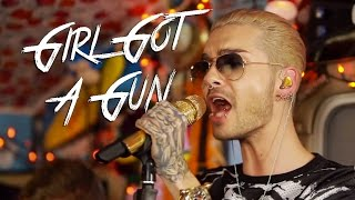 "TOKIO HOTEL - ""Girl Got a Gun"" (Live in Los Angeles, CA) #JAMINTHEVAN"