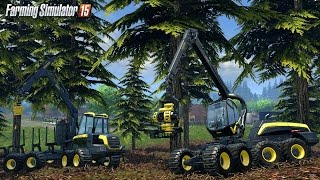 Farming Simulator 2015: Scorpion King Forestry Harvester (MONEY MAKING MACHINE!)
