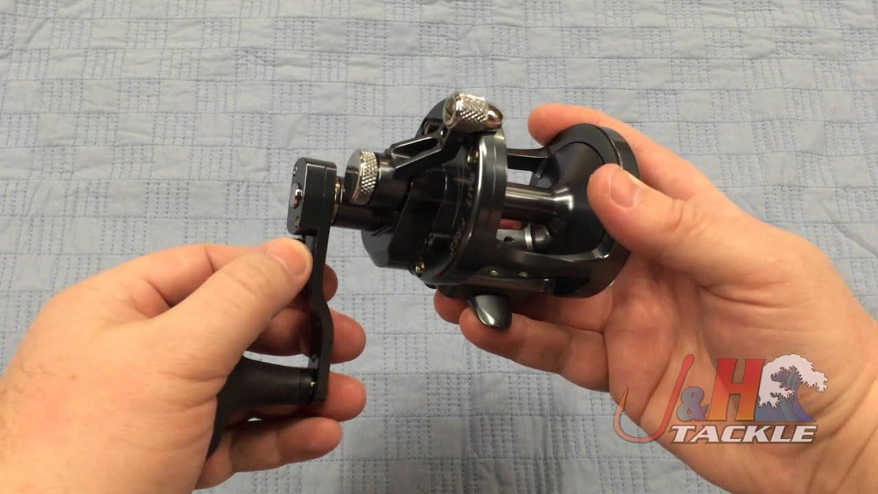 Avet MXL 64 Left Handed 2-Speed Lever Drag Reel   J&H Tackle