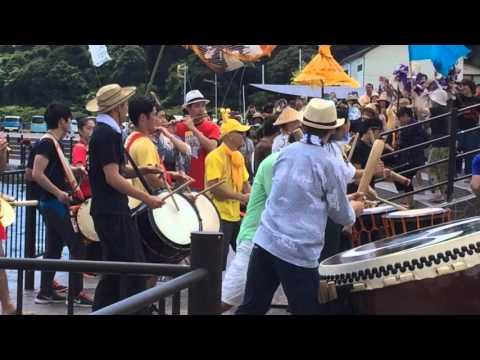 鼓童 アースセレブレーション2015 送り太鼓