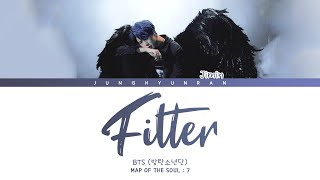 Gambar cover BTS JIMIN - FILTER 「Han/Rom/Eng Lyrics」