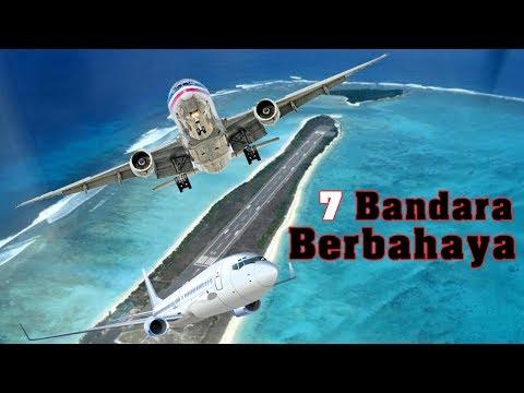 7 Bandara berbahaya di Dunia - Indonesia Paling Sawan [2017]