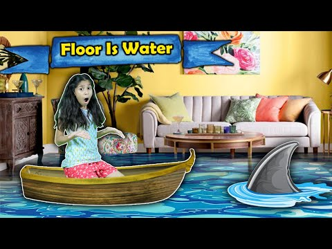 Floor Is Water | Funny Video | Pari's Lifestyle
