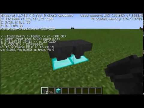 how to show chunks in minecraft