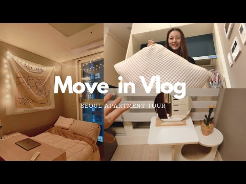 Moving Into My New Seoul Apartment| Seoul Apartment Tour| Mo