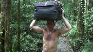un touriste en guyane