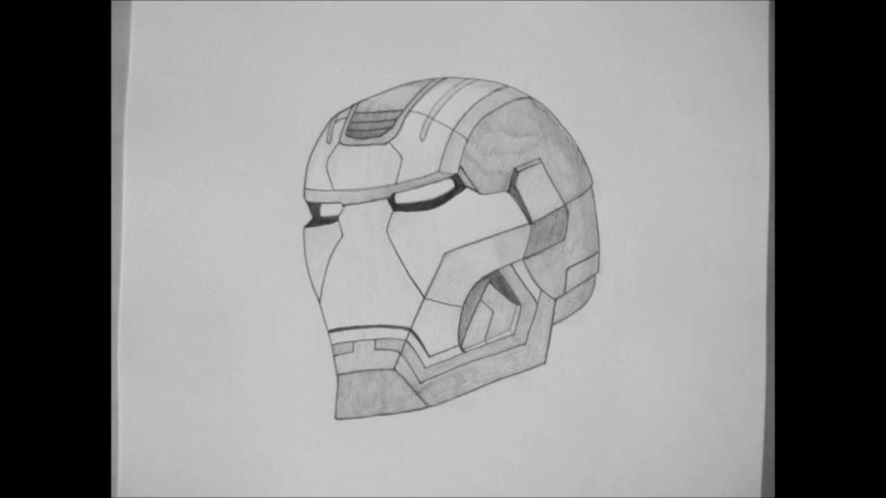 Iron Man 3 Pencil Drawing Hd Youtube