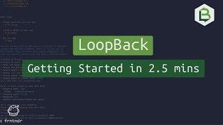 LoopBack.io Build REST APIs in under 2.5 mins