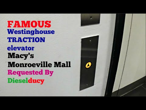 Westinghouse TRACTION elevator - Macy