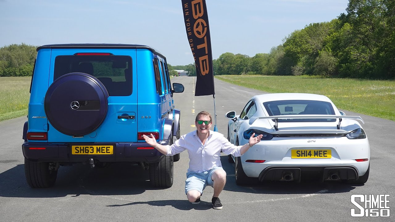 Can My Tuned AMG G63 UPSET My Porsche 718 GT4 in a Drag Race?