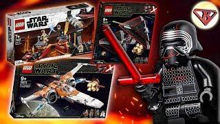 Новинки LEGO Star Wars 2020 наборы и Бой на Мустафаре из Лего Звёздных войн