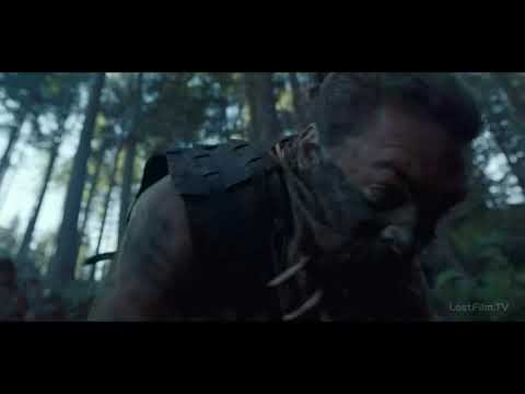 """Баба Восс сражается с армией ведьмоловов. Отрывок из сериала """"Видеть""""   """"See"""""""