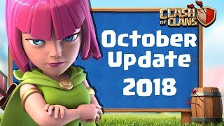 COC New Update October All Details - New Gems, New Troops Costs, New Clan Games - Clash of Clans