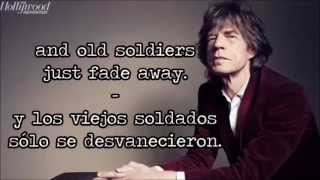 Mick Jagger - Old Habits Die Hard (lyrics english / spanish)