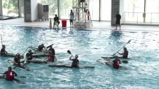 asian canoe polo championships 2015 game 1 8 u21 men hong kong vs singapore