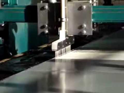 Two component polyurethane adhesive application machine