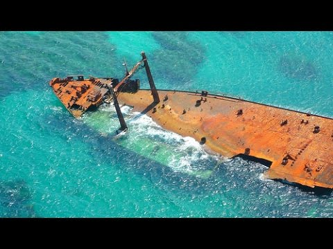 Astron Shipwreck in Punta Cana in 2K : Drone Aerial