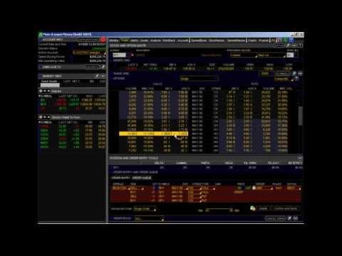 Thinkorswim active trader options