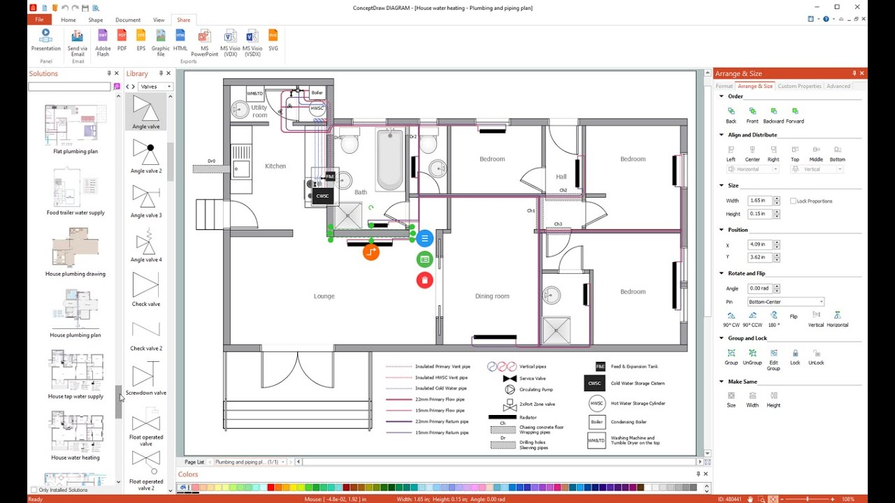 medium resolution of how to draw a plumbing plan