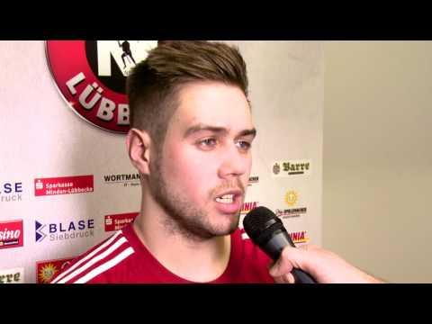 TuS N-Lübbecke vs. TV Huettenberg  Im Interview: Kenji Hoevels
