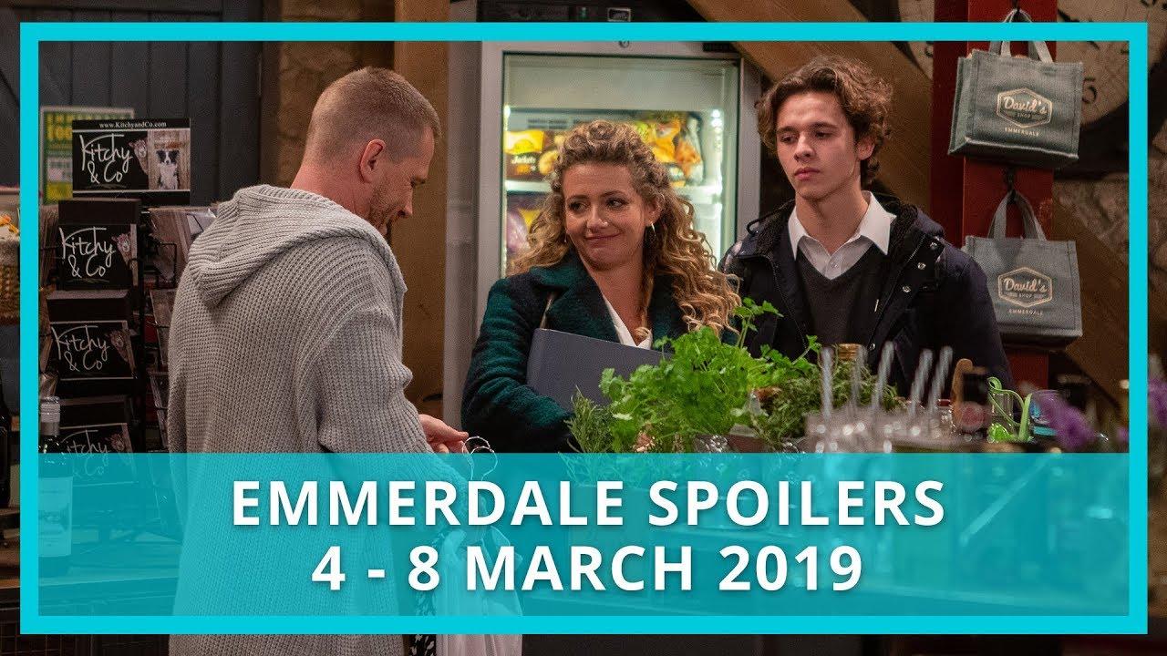 Emmerdale spoilers: 4 - 8 March 2019