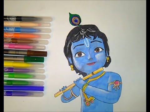 Coloring Pages Little Krishna Movie Colouring For Kids Youtube