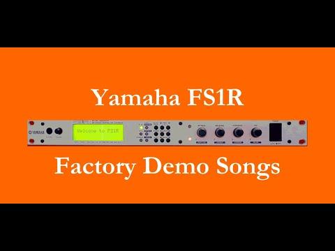 Yamaha FS1R - Démos internes - Factory Demo Songs