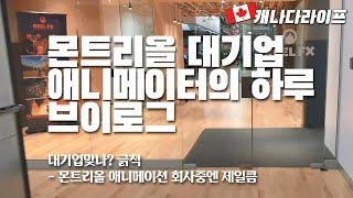 캐나다 몬트리올 대기업 애니메이터의 하루 | 해외취업 …