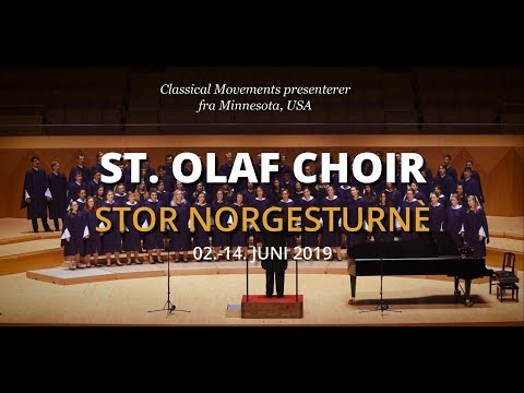 St. Olaf Choir Tours Norway